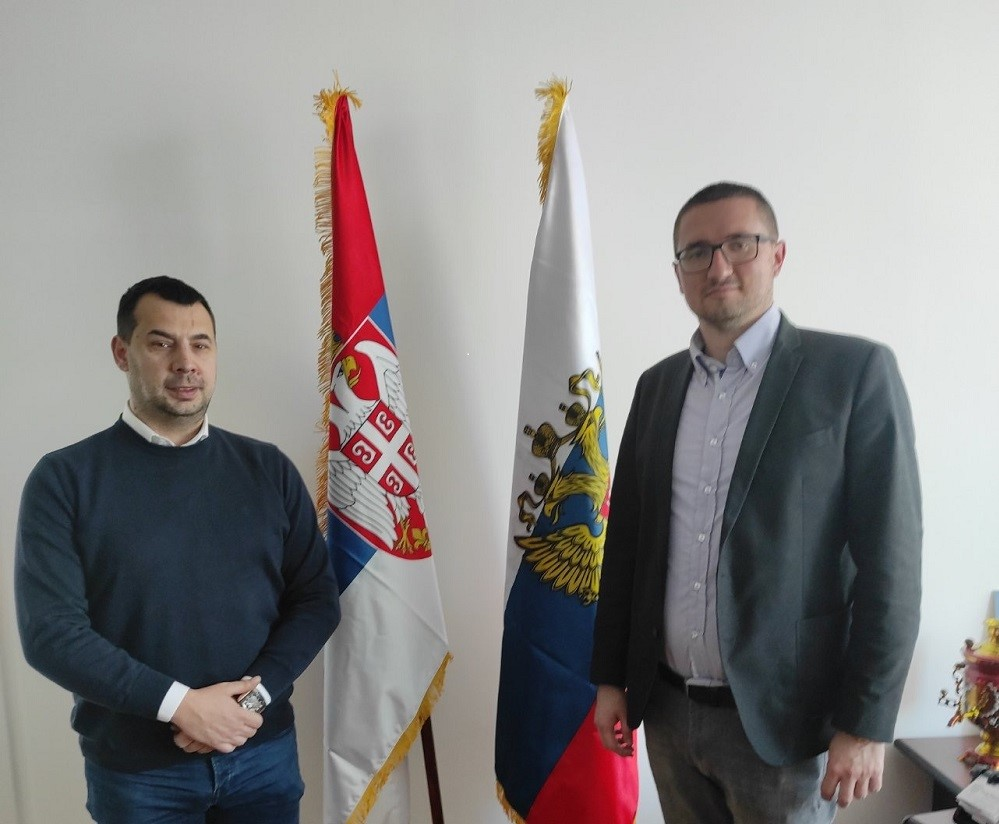 владимир Пребирачевић и Стефан Стаменковски