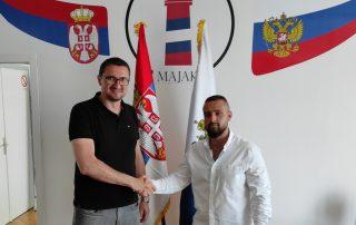 Vladimir Prebiračević i Kristijan Kojičić Srpsko Ruski centar Majak